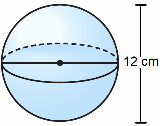 Volume Of Spheres Worksheet Lovely Finding the Volume Of A Sphere Worksheet
