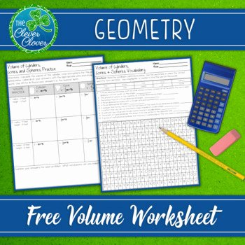 Volume Of Spheres Worksheet Lovely Volume Of Cylinders Cones and Spheres Worksheets by the