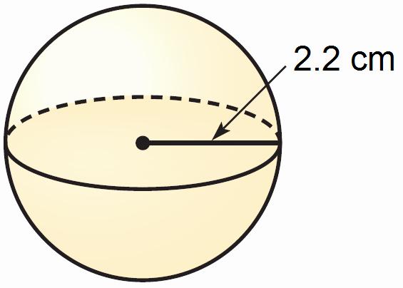 Volume Of Spheres Worksheet Luxury Finding the Volume Of A Sphere Worksheet