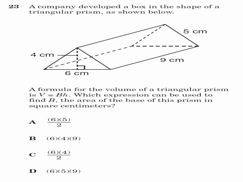 Volume Word Problems Worksheet Lovely Volume Triangular Prism Worksheet Free Printable