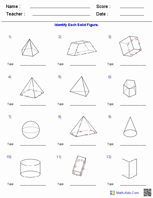 Volumes Of Prisms Worksheet Luxury Volume Prisms Worksheet
