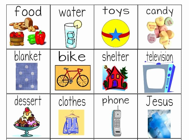 "Wants and Needs Worksheet Luxury ""needs Versus Wants"" Worksheets & Object Lesson for"