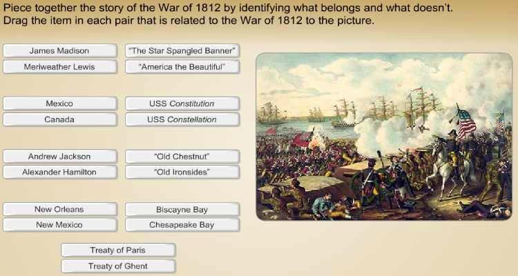 War Of 1812 Worksheet Beautiful 4th 5th Grade History Activity War Of 1812 Learning Liftoff