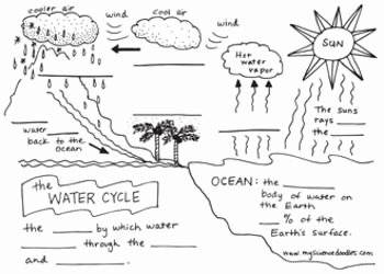 Water Cycle Worksheet Answer Key Awesome Science Doodle Free the Water Cycle Interactive Notebook