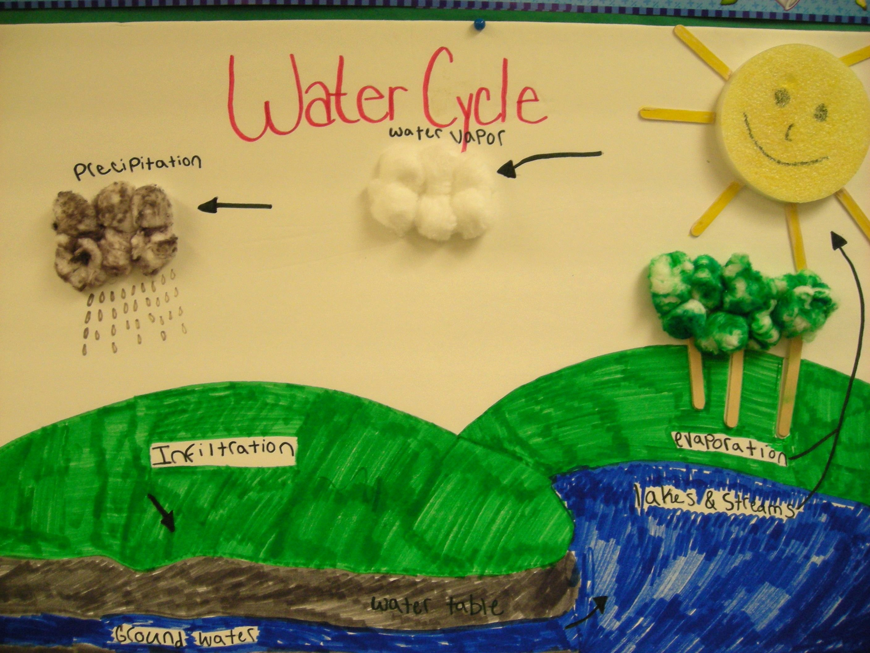 Water Cycle Worksheet Middle School Unique Water Cycle Diagram Worksheet for Middle School