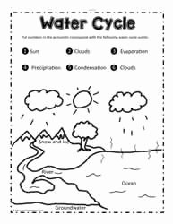 Water Cycle Worksheet Pdf Awesome Water Cycle Worksheets