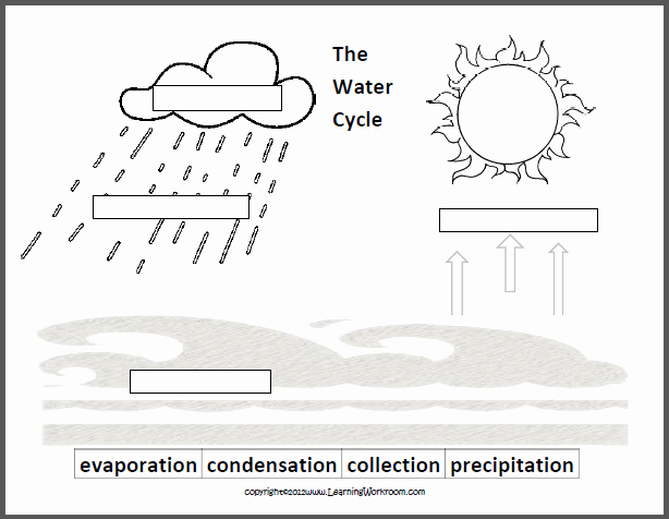 Water Cycle Worksheet Pdf Beautiful Learning Ideas Grades K 8 Oceans and the Water Cycle