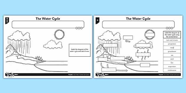 Water Cycle Worksheet Pdf Best Of the Water Cycle Worksheet Worksheet Water Cycle