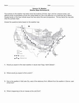 Weather Map Symbols Worksheet Best Of Teacher Sheet Weather Gizmo