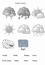 Weather Map Symbols Worksheet Lovely Weather forecast Esl Worksheet by Lango
