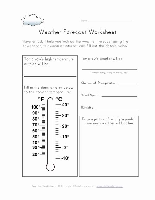 Weather Map Symbols Worksheet New 9 Best Of Weather Tracking Worksheet Weekly