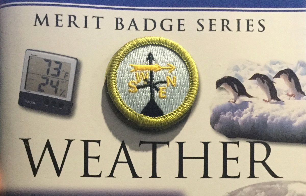 Weather Merit Badge Worksheet Inspirational Summer Scouting Earn Your Weather Merit Badge