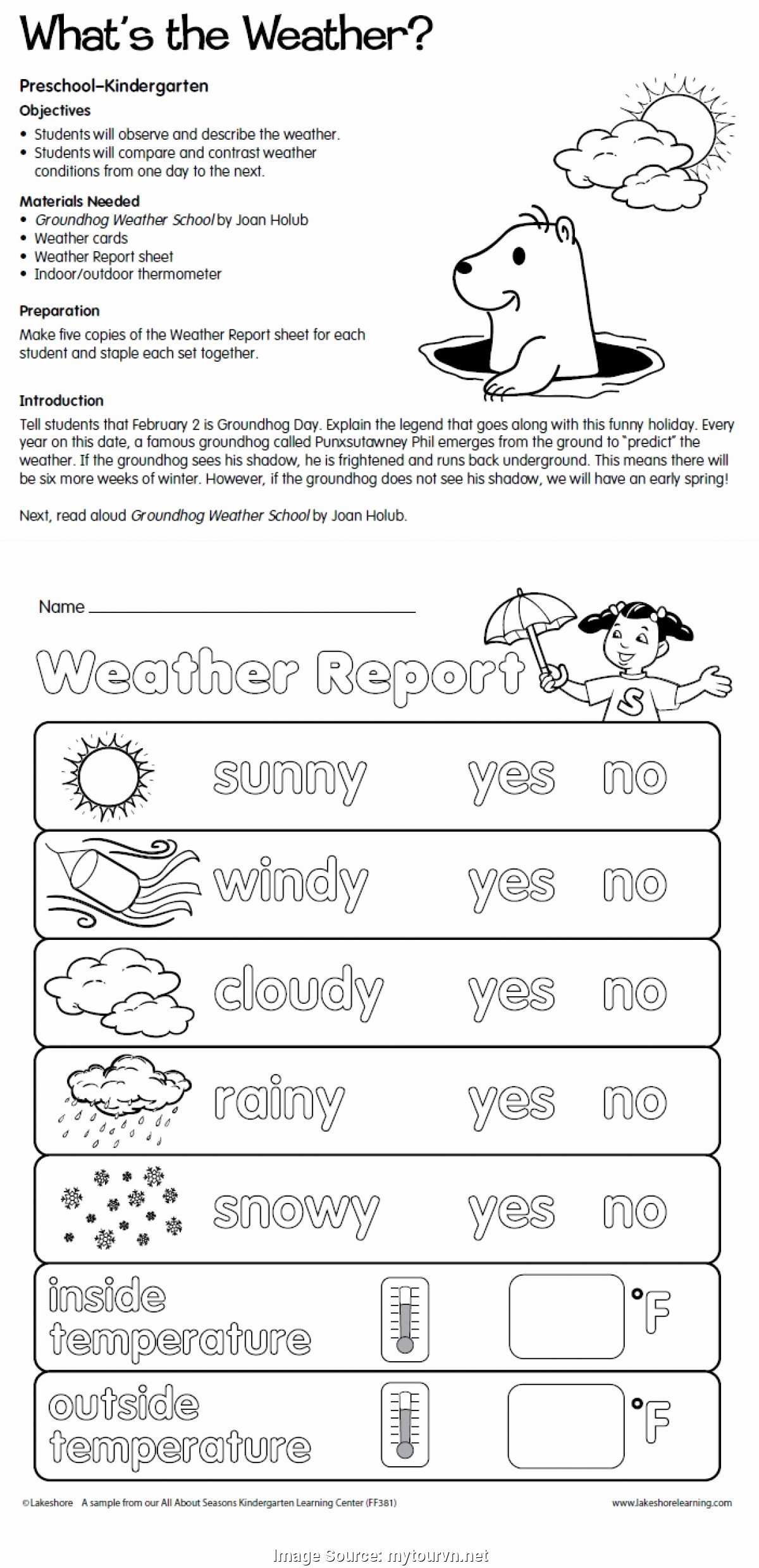 Weather Vs Climate Worksheet Elegant Regular Vpk Lesson Plans Samples Blank Preschool Weekly
