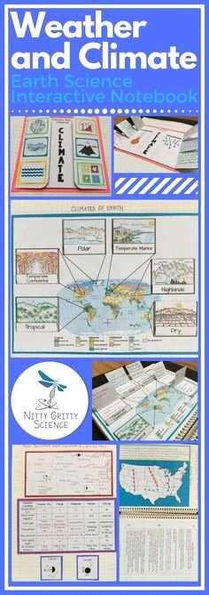 Weather Vs Climate Worksheet Elegant Weather Vs Climate Interactive Notebook Activity Free