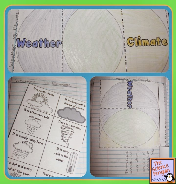 Weather Vs Climate Worksheet Inspirational Week 20 Weather and Climate — the Science Penguin