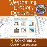 Weathering Erosion and Deposition Worksheet Fresh Weathering Erosion and Deposition Worksheet Teaching