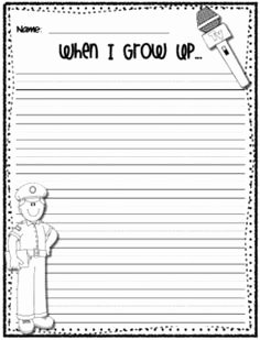 When I Grow Up Worksheet Inspirational 12 Best Of Munity Helpers Worksheet First Grade
