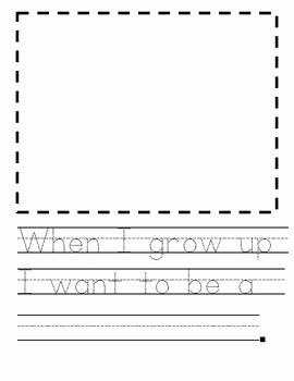 When I Grow Up Worksheet Lovely when I Grow Up Munity Helpers