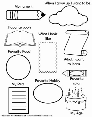 When I Grow Up Worksheet Luxury 56 Best Kindergarden Worksheets Images On Pinterest