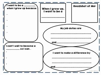 When I Grow Up Worksheet New when I Grow Up Writing Activity by the Ener Ic Teacher