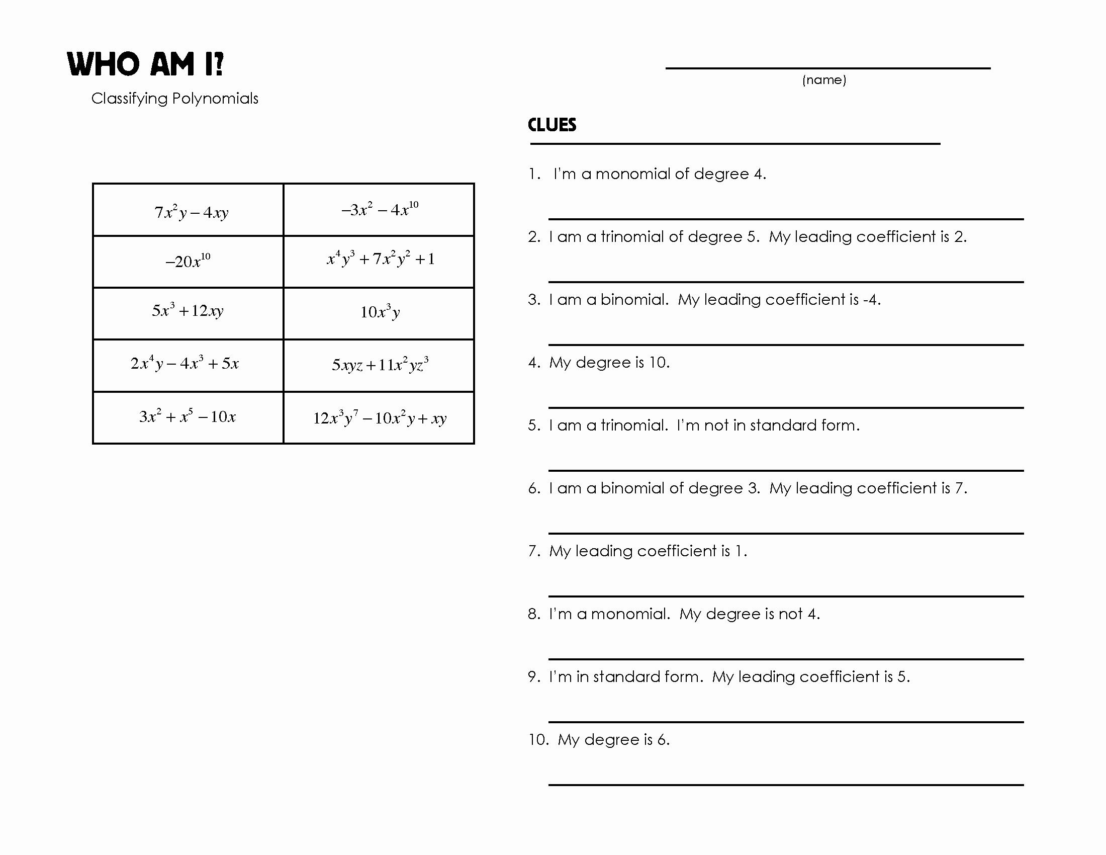 Who Am I Worksheet Beautiful 'who Am I' Worksheets