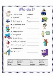 Who Am I Worksheet Elegant English Teaching Worksheets who Am I