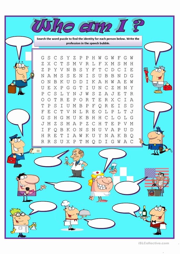 Who Am I Worksheet Elegant who Am I Worksheet Free Esl Printable Worksheets Made by