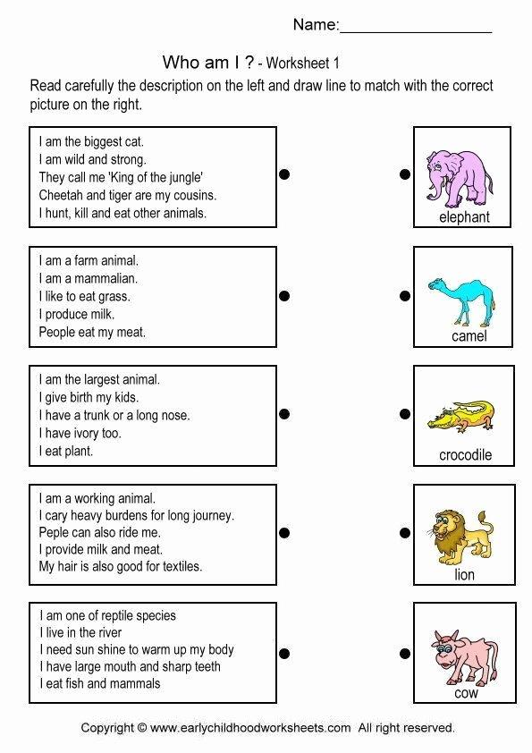 Who Am I Worksheet Elegant who Am I Worksheets the Best Worksheets Image Collection