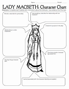 Whose Phone is This Worksheet Beautiful Macbeth Characterization Activity Worksheets Bell