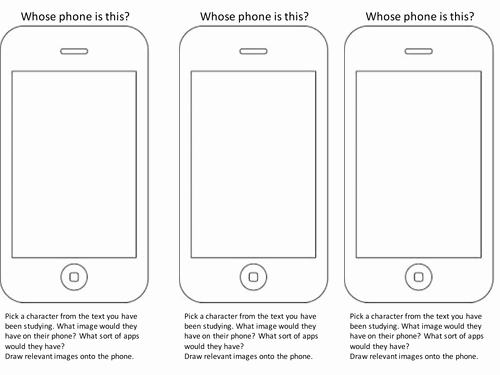 Whose Phone is This Worksheet Best Of whose Phone is This by Mushroomofjoy Teaching Resources