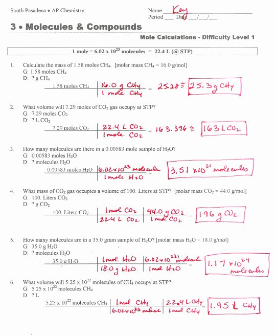 Worksheet for Basic Stoichiometry Answer Luxury Stoichiometry Worksheet Answers