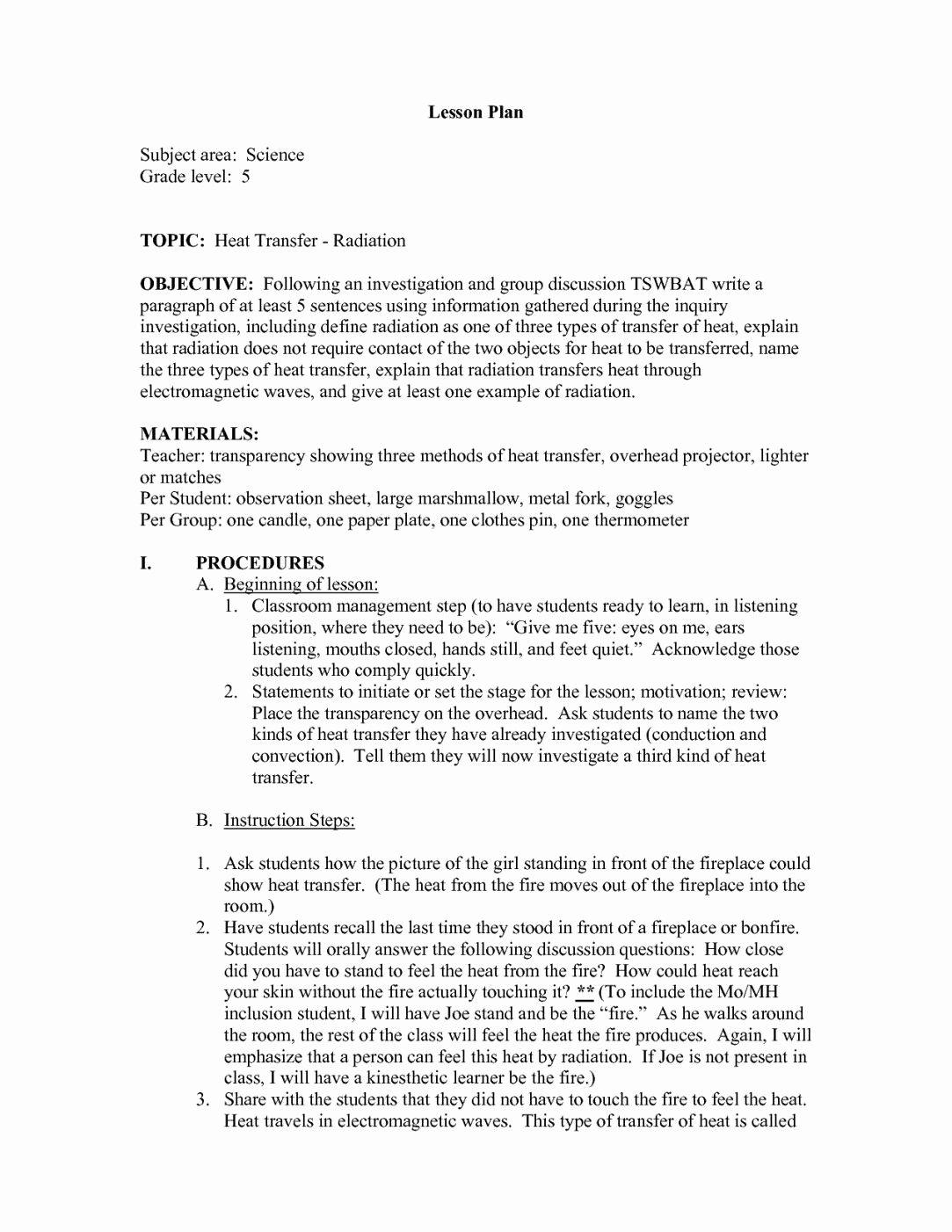 Worksheet Methods Of Heat Transfer Elegant Worksheet Methods Heat Transfer