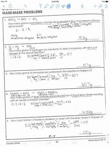Worksheet Mole Problems Answers Luxury Mole Mole Stoichiometry Problems Worksheet Breadandhearth