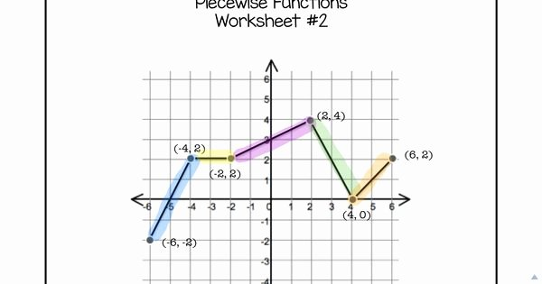 Worksheet Piecewise Functions Algebra 2 Awesome Algebra 2 Precalculus Piecewise Functions