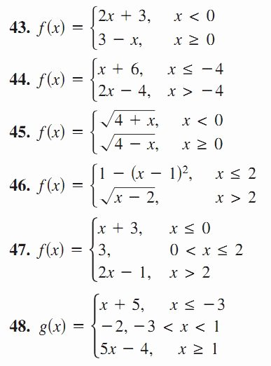 Worksheet Piecewise Functions Algebra 2 Lovely 7 Best Algebra 1 Unit 5 Piecewise Function Images On