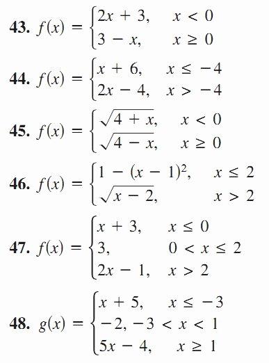 Worksheet Piecewise Functions Algebra 2 Lovely 7 Best Algebra 1 Unit 5 Piecewise Function Images On