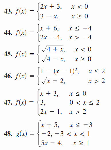 Worksheet Piecewise Functions Answer Key Awesome Graphs Of Piecewise Functions Worksheet Google Search