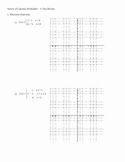 Worksheet Piecewise Functions Answer Key Lovely Piecewise Functions Worksheet Survey Of Calculus