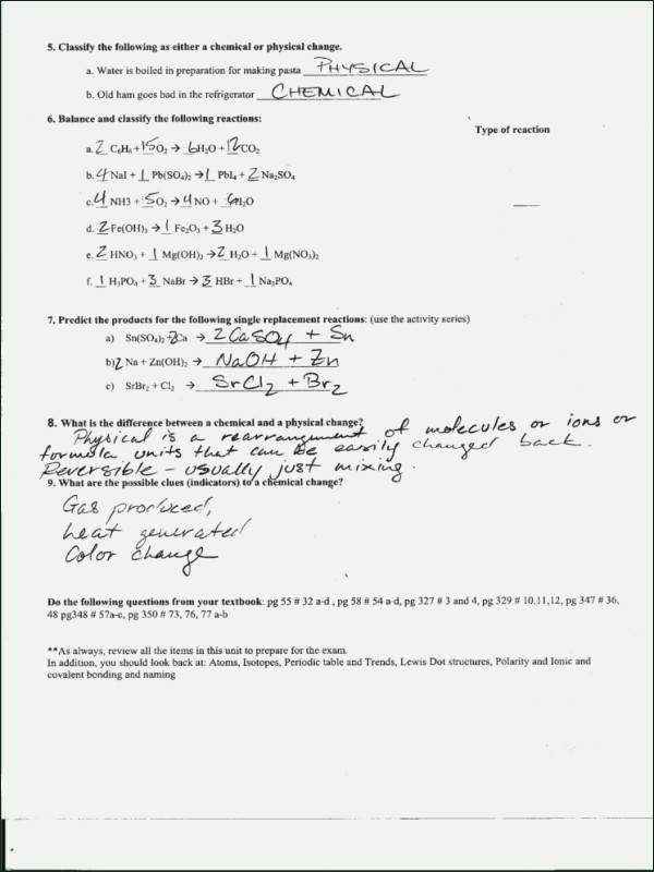 Worksheet Polarity Of Bonds Answers Awesome Ionic and Covalent Bonds Worksheet Answers