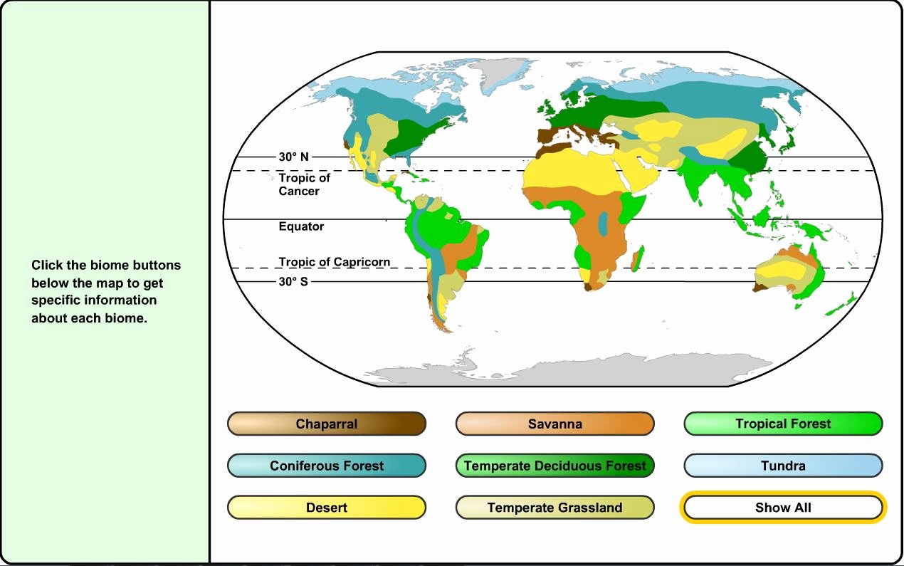 World Biome Map Coloring Worksheet Lovely 6th 8th Grade Science Land Biomes Learning Liftoff