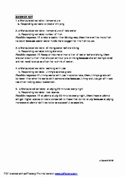 Writing A Hypothesis Worksheet Best Of How to Write A Good Hyposthesis Using if then because by