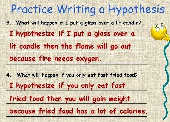 Writing A Hypothesis Worksheet Best Of Practice Writing Hypothesis 5th Grade