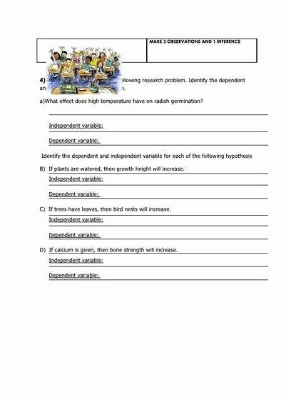Writing A Hypothesis Worksheet Luxury Writing if then Hypothesis Worksheet Answers