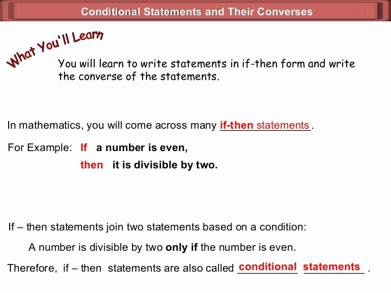 Writing A Hypothesis Worksheet New Hypothesis Conclusion Geometry 1 4