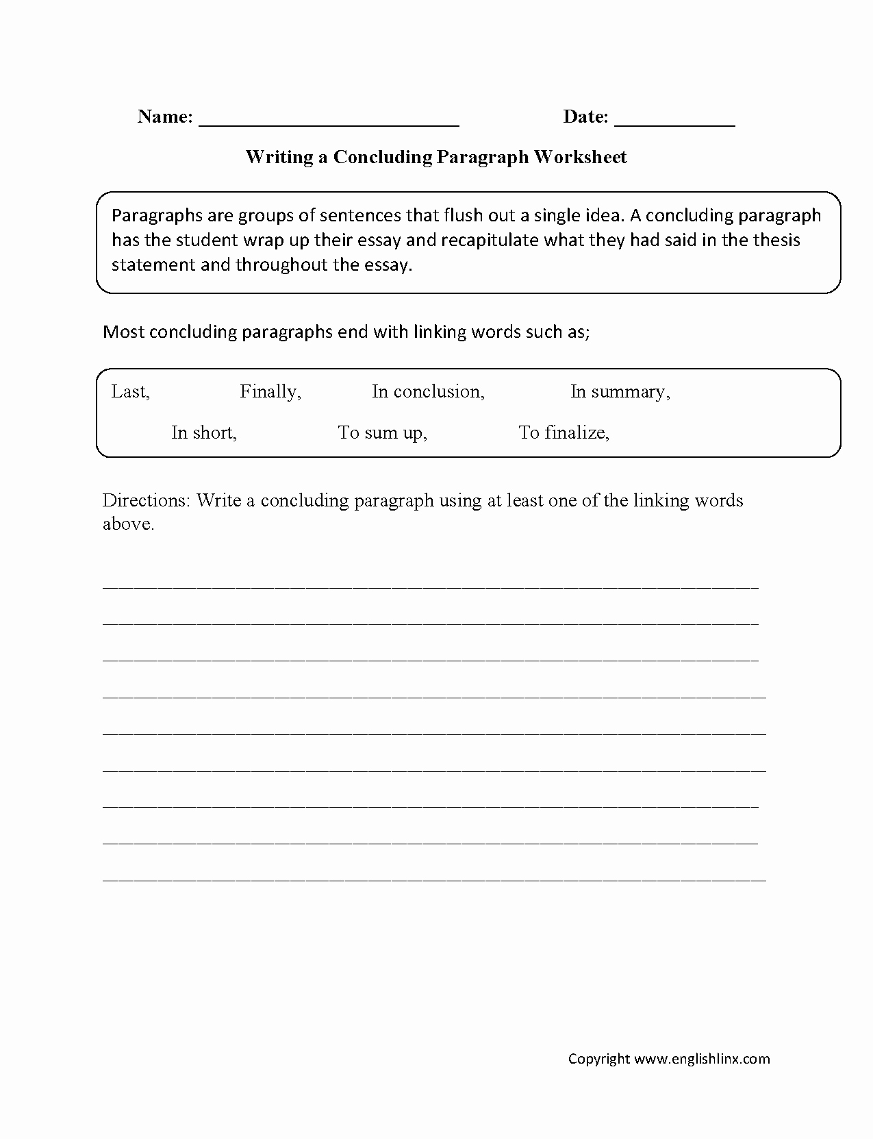 Writing A Paragraph Worksheet Beautiful 15 Best Of Narrative Paragraphs Worksheets