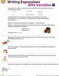 Writing Algebraic Expressions Worksheet Inspirational Fill In the Number Line
