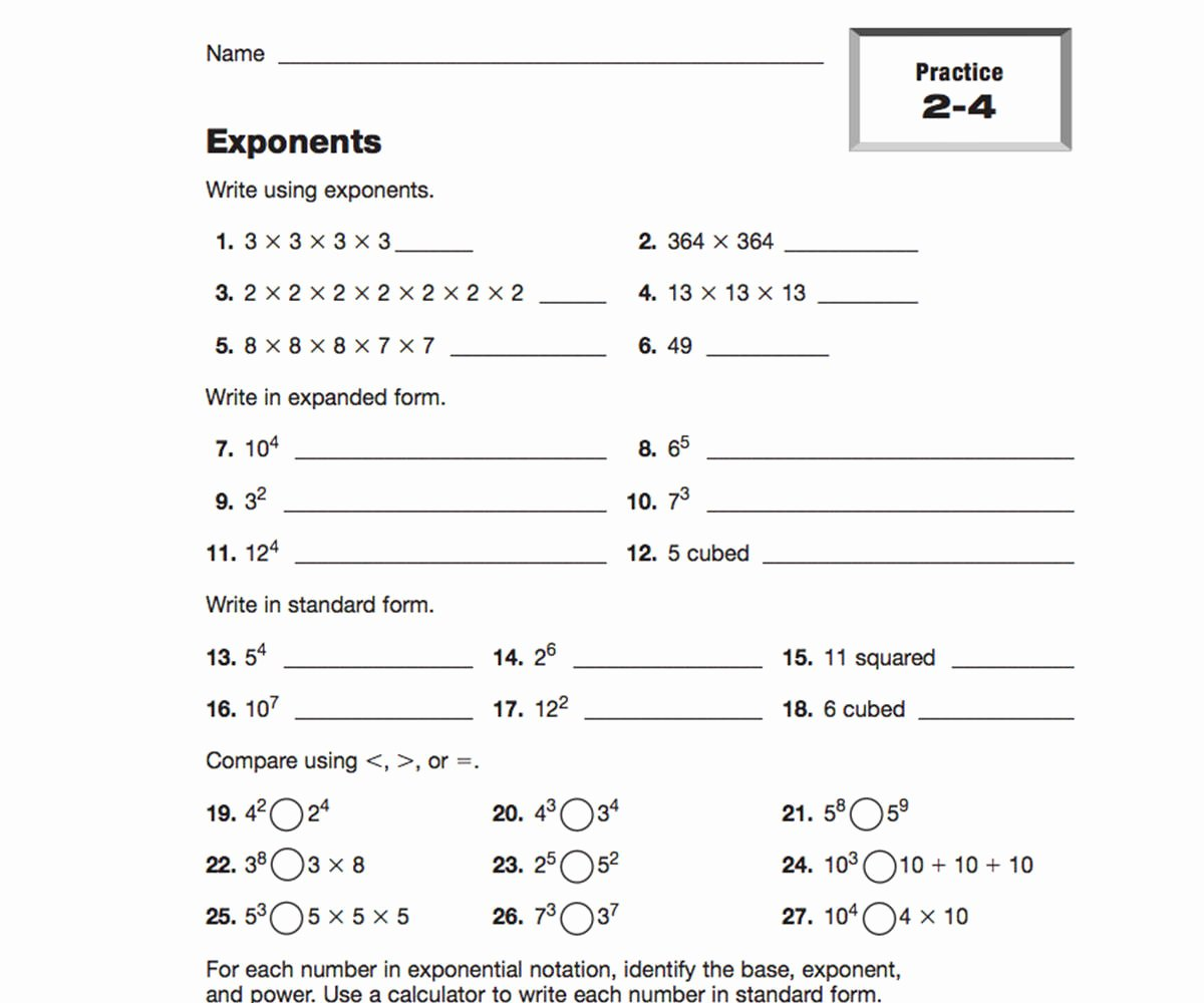 Writing Algebraic Expressions Worksheet Lovely Writing Expressions Teachervision