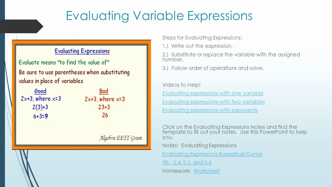 Writing and Evaluating Expressions Worksheet Elegant Lovely Variables and Expressions Worksheet