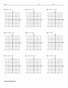 Writing Equations From Graphs Worksheet Elegant Writing Linear Equations Horizontal and Vertical Lines