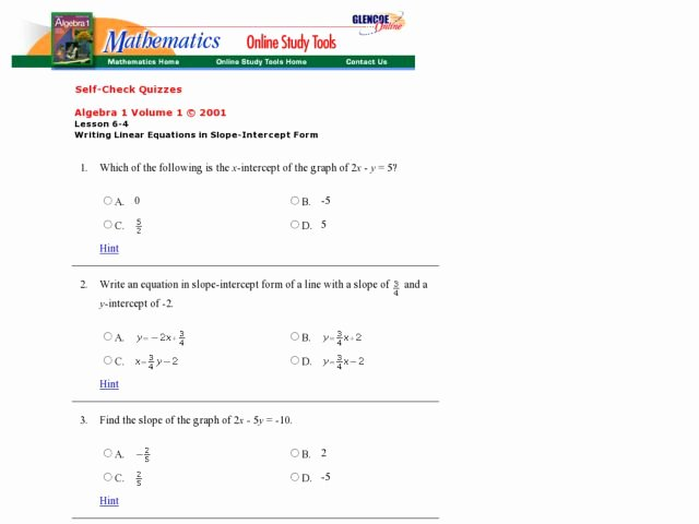 Writing Equations Of Lines Worksheet Beautiful Writing Equations In Slope Intercept form Worksheet 4 2